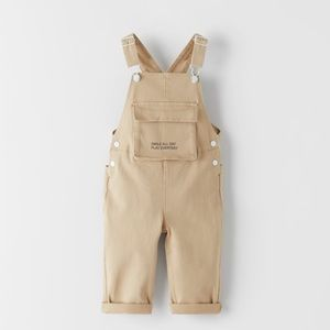 NWT Zara Size 3-4Y overalls with pocket